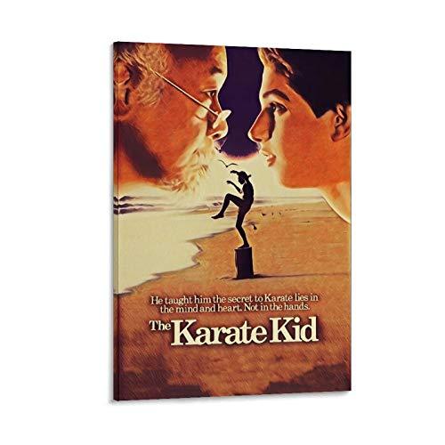 ASDUN Póster clásico de karate para niños, de 30 x 45 cm
