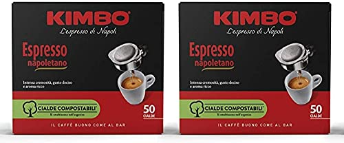 KAFFEE KIMBO ESPRESSO NAPOLETANO - Box 100 PADS ESE44 7g