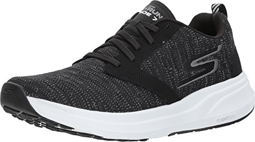 Skechers Performance Men's Go Ride 7 Running Shoe,black/white,8 M US