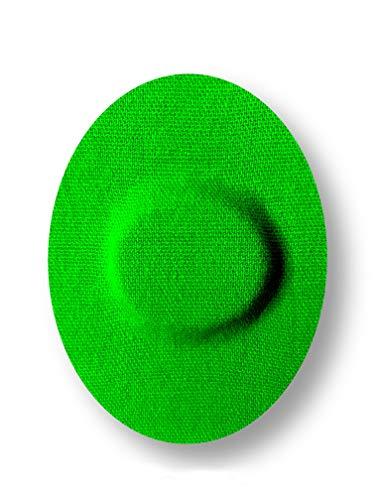 FixTape atmungsaktive Sensor-Tapes für Freestyle Libre 1 & 2 I selbstklebende Over-Tapes für Glukose-Sensor I Schutz-Patch mit hohem Trage-Komfort I hautfreundlich wasserfest I 7 Stück (Grün)