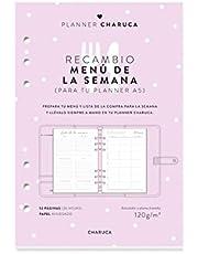 Charuca Recambio Menús y Lista de la Compra, A5