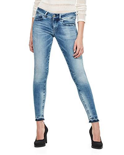 G-STAR RAW Womens Lynn Mid Skinny rp Ankle Wmn Jeans, Sun Faded Azurite C296-B471, 31W / 32L