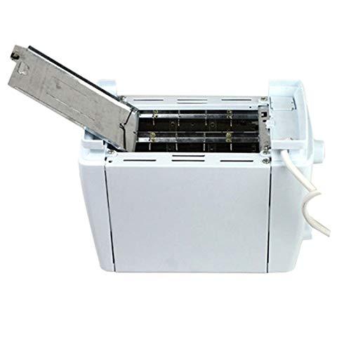 Brotbackautomat Fast-Bake Brotmacher Einstellbar Fastbake Kompaktes Design Edelstahl Safe ungiftig Multifunktionaler