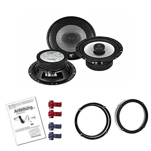 Hifonics AS-62 Auto Lautsprecher mit Einbauset passend für VW Volkswagen UP ab...