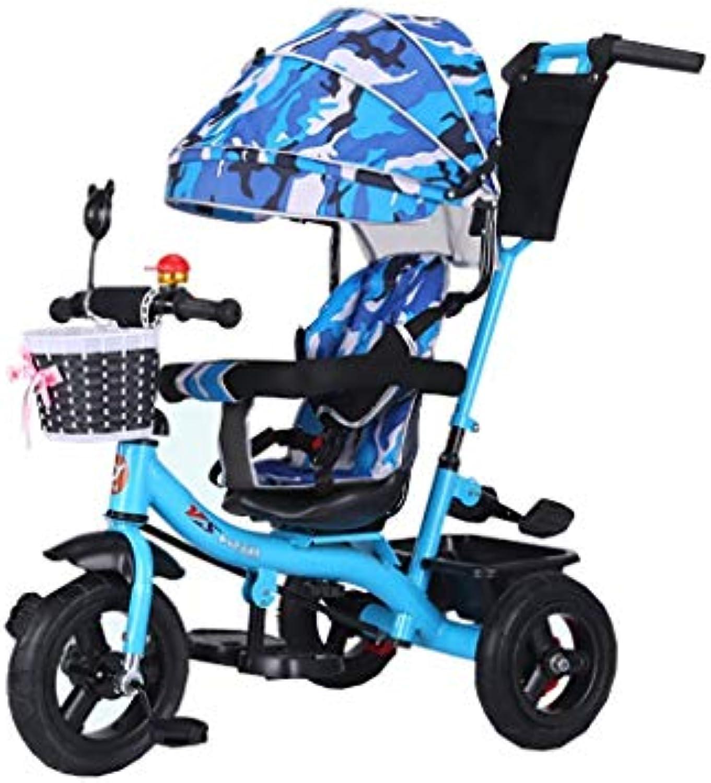 HhGold Multifunktionale Reiten Dual-Use rotierenden dreirdrigen Warenkorb Kinder Dreirad Fahrrad 1-3-6 Jahre alt groe Fahrrad Baby Fahrrad Mnner und Frauen Kinderwagen