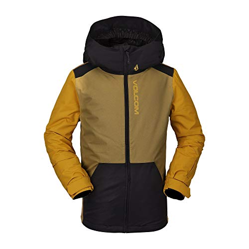 Volcom Jungen Vernon Insulated Snow Jacket Isolierte Jacke, Burnt Khaki, X-Large