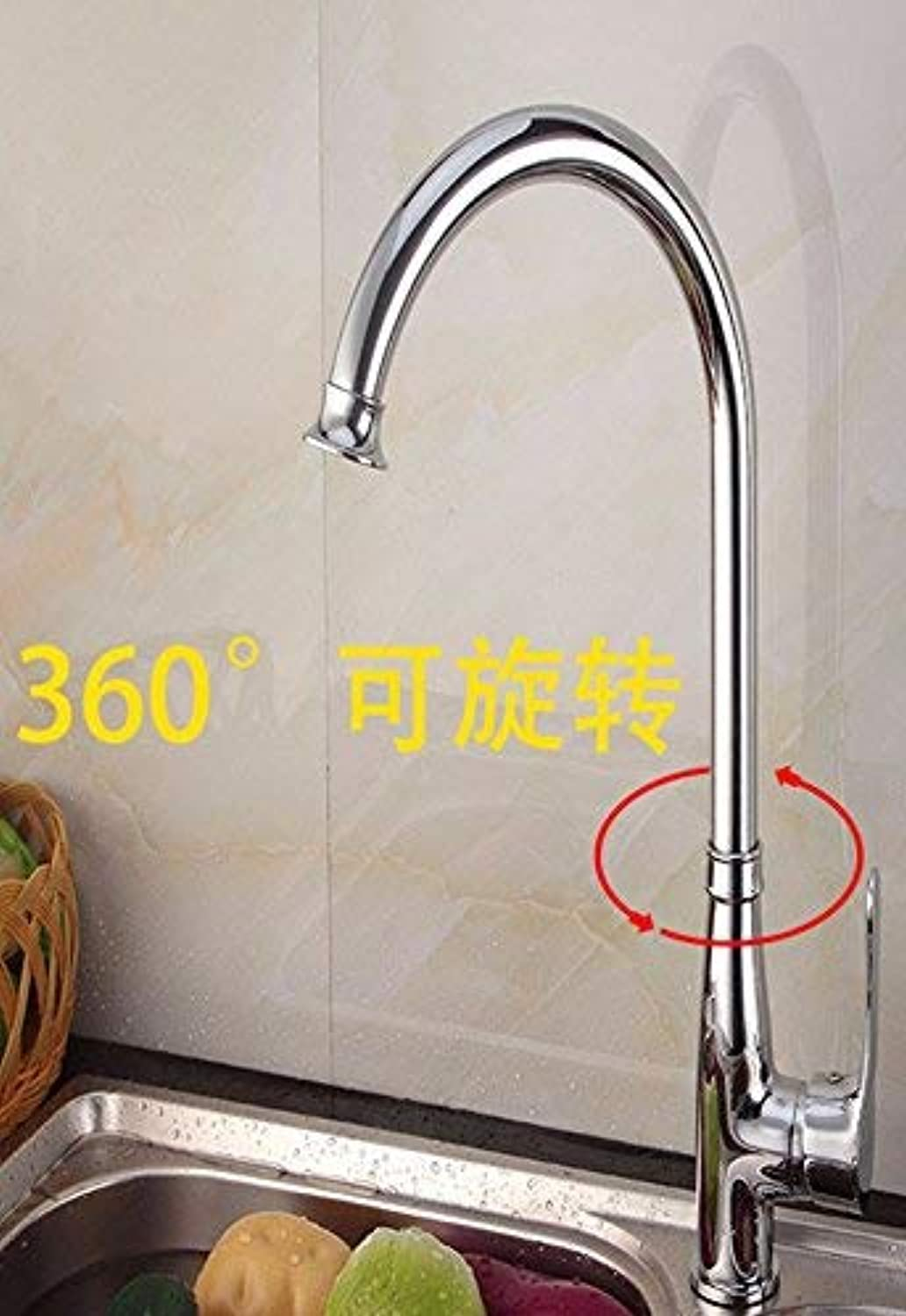 Oudan Full copper dish basin redatable single hole single handle hot and cold stainless steel sink faucet