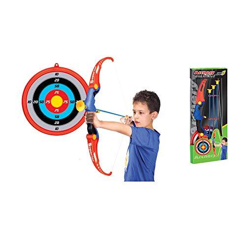 Arco e frecce per Bambini Arco con frecce per Bambini Arco frecce Bambini con 1 Arco 3 Frecce 1 Porta Frecce e 1 Bersaglio Gioco di Tiro per Bambini