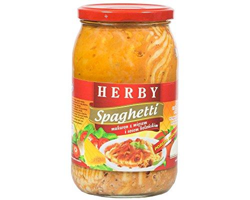 Herby Spaghetti- Nudeln mit Fleisch und Bolognese-Sauce 880g