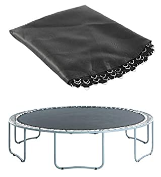 Upper Bounce Replacement Jumping Mat Fits 12 ft Round Trampoline Frame with 72 V-Hooks Using 7  Springs