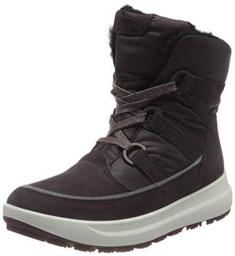 ECCO Solice K Simba Ankle Boot, Purple (FIG), 35 EU