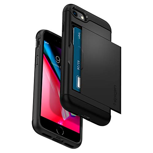 Spigen Slim Armor CS Designed for Apple iPhone 8 Case (2017) / Designed for iPhone 7 Case (2016) - Black
