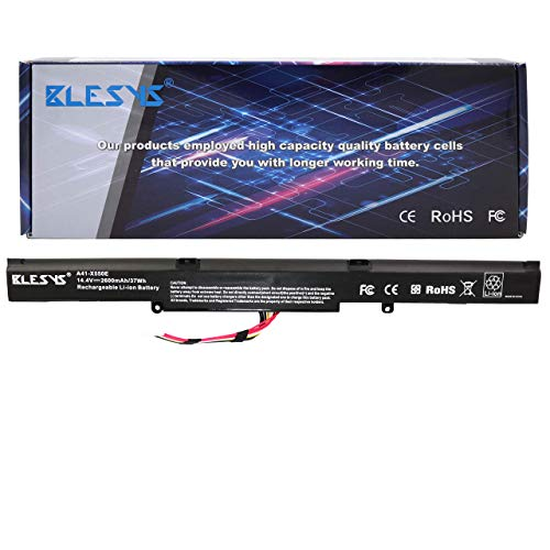 BLESYS Batterie pour ASUS A41-X550E A751 A751BP A751LA A751LB A751LD A751LDB A751LJ A751LJC A751LN A751LX A751MA A751MJ A751NA A751NV A751SA A751SJ A751SV A751YI Batterie
