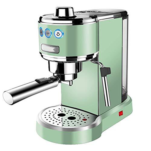 Máquina de café expreso de 20 bares de presión, inteligente cafetera de café, puede moler los granos de café capuchino y leche Machiato, 1250 W, de acero inoxidable de alto rendimiento