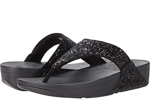 FITFLOP Lulu Glitter Toe-Thongs, Sandal Femme, 42 EU