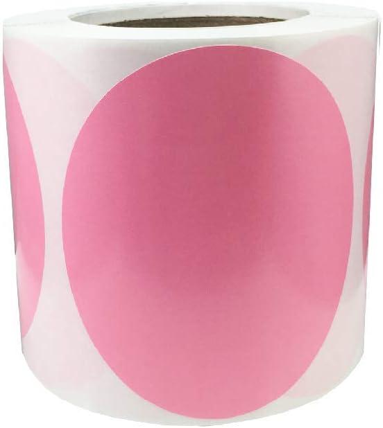 Max 63% Tulsa Mall OFF 1 Pc Color Coding Labels Circle 500 Total 4 Inch Dots Adhesive
