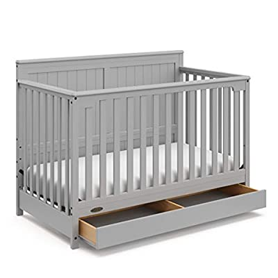 Graco Hadley Baby Crib, Pebble Gray by Storkcraft