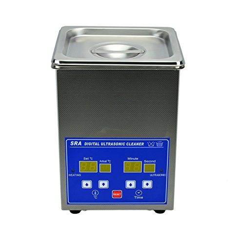 SRA TruPower UC-20D Digital Ultrasonic Cleaner, 2 Liter