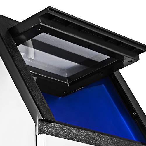 BuoQua 50KG Commercial Ice Maker Machine 110LBS Ice Cube Maker Machine Digital Control Refrigeration for Bar Home…
