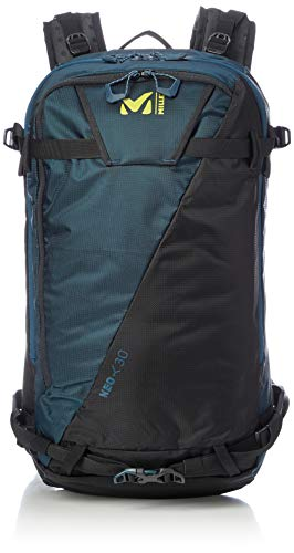 MILLET Neo 30 Sac à Dos de Ski Unisex-Adult, Orion Blue/Wild Lime, U