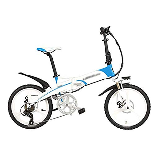 HLL Scooter, Elektro-Bike G660 Elite 20 Zoll Klapp Pedal Assist elektrisches Fahrrad, 48V 10Ah Lithium-Batterie,...
