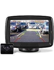 AUTO-VOX TD-2 デジタルバックモニター バックカメラ ワイヤレス トラック対応 電磁波干渉防止 ノイズ対策 正像・鏡像切替対応 ガイドライン表示あり 暗視機能 常時使用可能