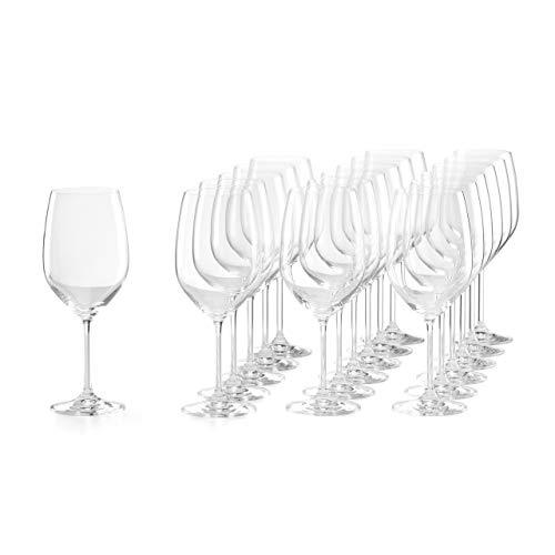 Lenox Tuscany Classics 18-pc White Wine Glass Set, 16.70 LB, Clear