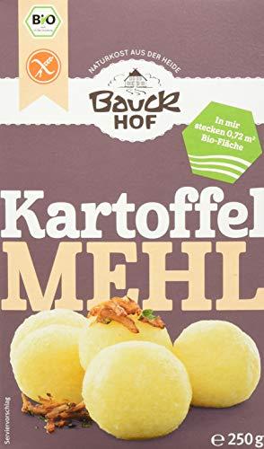 Bauckhof Kartoffelmehl (Stärke) glutenfrei, 6er Pack (6 x 250 g) - Bio