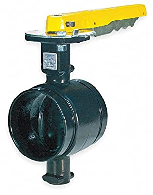 Butterfly Valve,Grooved,4 In,Iron by GRUVLOK