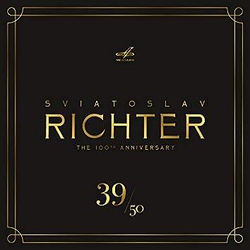 Святослав Рихтер 100, Том 39 (Live)