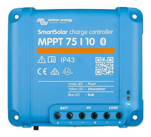 Victron Energy SmartSolar MPPT 75V 10 amp 12/24-Volt Solar Charge Controller (Bluetooth)