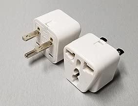 Universal Plug Adapter - NEMA 6-15P - 208/220/230/240 Volt - 15 Amps Max - 1 Pack