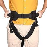 Cinturón de transferencia con correas para las piernas, para pacientes con ayuda médica y hebilla de liberación rápida, uso en lifting transfer y terapia de terapia física