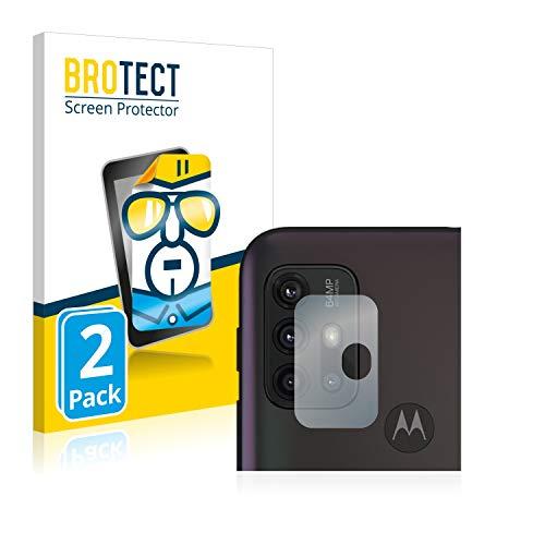 BROTECT Schutzfolie kompatibel mit Motorola Moto G30 (nur Kamera) (2 Stück) klare Displayschutz-Folie