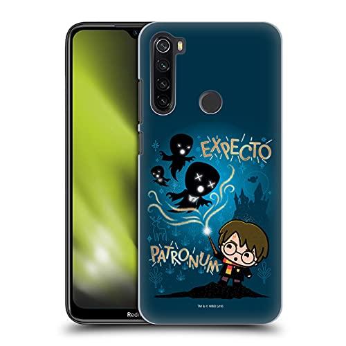 Head Case Designs Licenza Ufficiale Harry Potter Expecto Patronum Deathly Hallows III Cover Dura per Parte Posteriore Compatibile con Xiaomi Redmi Note 8T