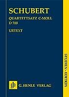 Quartettsatz c-moll D 703 SE