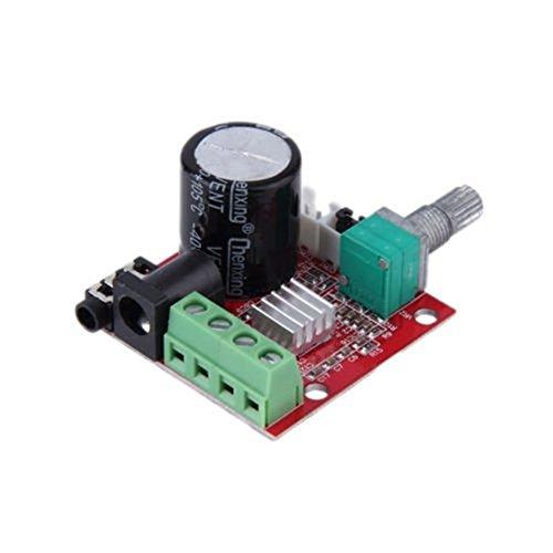 PerGrate PAM8610 Mini 10 Watt + 10 Watt DC8V-12 V Stereo Audio Endstufe Board Modul