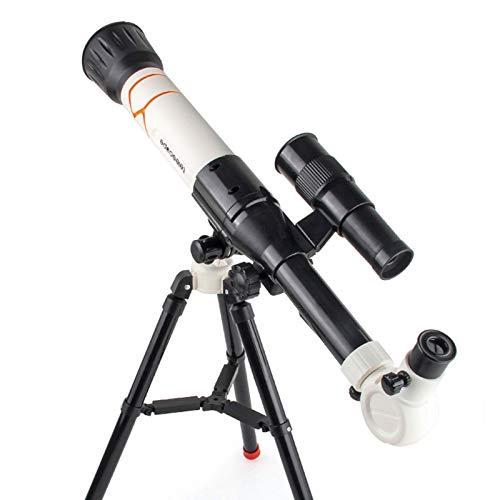 Telescopio astronomico Cannocchiale da viaggio con treppiede per bambini Telescopio per principianti per bambini Telescopi per principianti di astronomia in grado