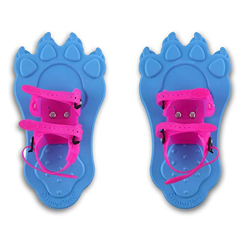 Redfeather Snowshoes Snowpaw Snowshoes, Light Blue/Pink, one Size