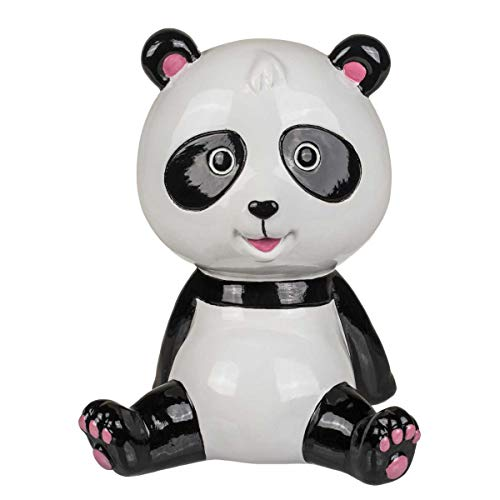 Out of the blue 78/4144 Keramik-Spardose, Panda, weiß