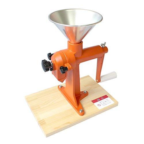 家庭用 手動式製粉機 (米粉、そば粉、小麦粉、きなこなど)