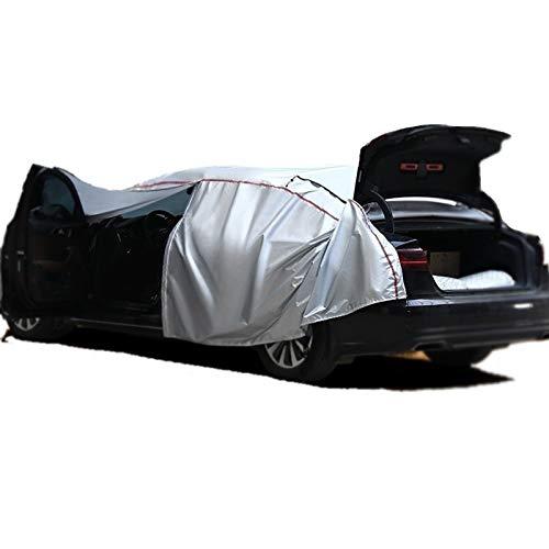 XXHDEE Adecuado para Ma-se-ra-ti G-r-an-Ca-b-rio cubierta gruesa de coche (con cremalleras en la cab