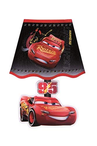 2 in 1 Nachtlicht + Wandsticker Auswahl Paw Patrol - Frozen - Cars Nachttischlampe Lampe Wandtattoo Tapete Die Eiskönigin (Cars)