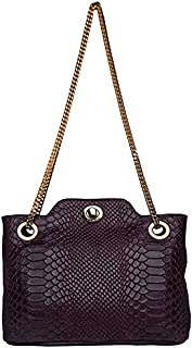 Hidesign Women's Sling Bag (Purple)