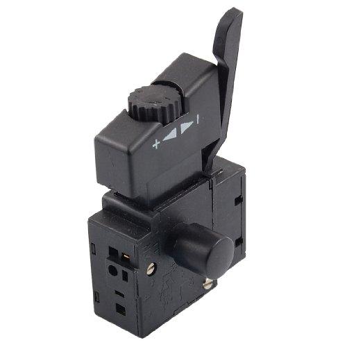 Schalter mit Drehzahlregler für elektrische Handbohrmaschine - 250V AC, 6A