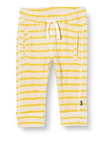 Imps & Elfs Baby-Unisex U Regular fit Pants Bela Y/D STR Hose, Mehrfarbig (Cream Gold P473), (Herstellergröße: 62)