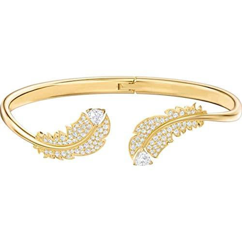 Swarovski Damen-Armreifen Silber_vergoldet 5505622