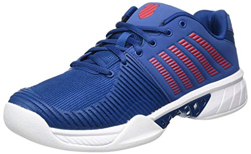 K-Swiss Performance Herren KS TFW Express Light 2 Carpet-Dblue/WHT/BITERSWEET Tennisschuh, Dark Blue/White/Bittersweet,44 EU