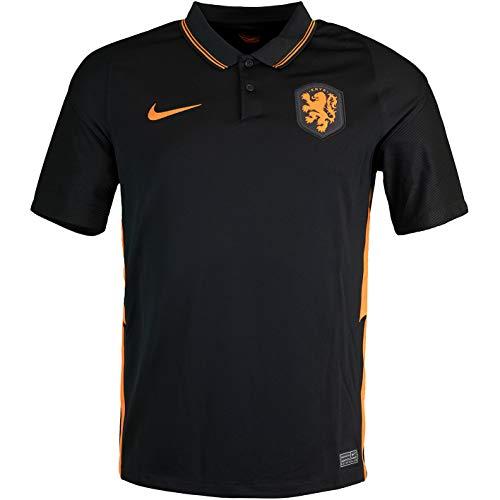 Nike Camiseta de fútbol Holanda (XXL, negro)