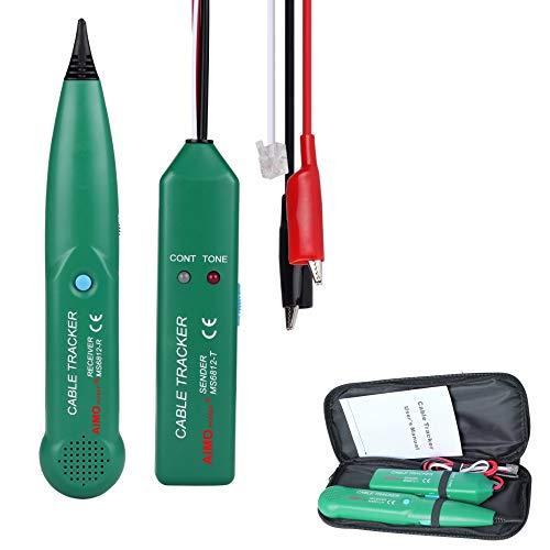 MASTECH MS6812 Telefon-Tracker, LAN-Netzwerk-Kabel-Tester für UTP STP Cat5 Cat6 RJ45 RJ11 Leitungsfindungstest